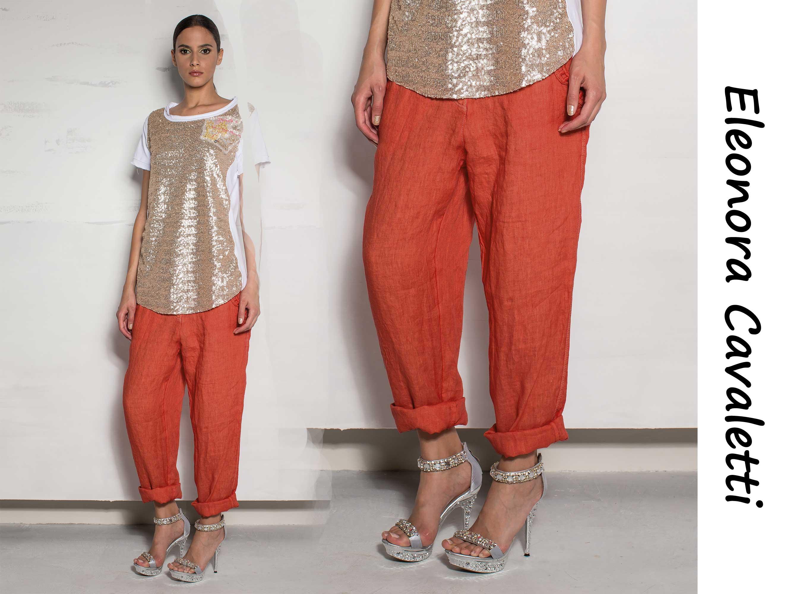 Женские летние брюки большого размера доставка