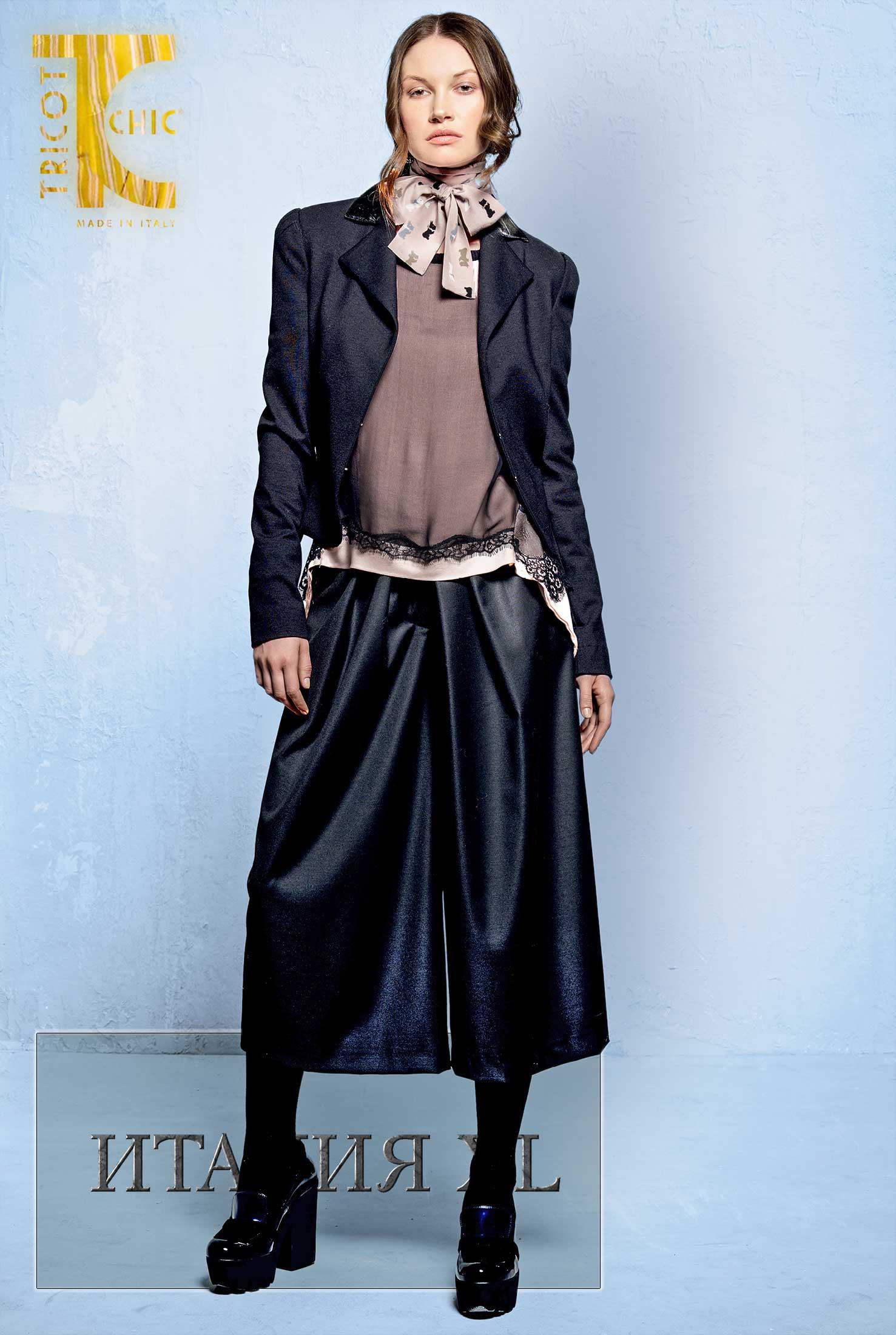 Модные юбки и брюки зима полным